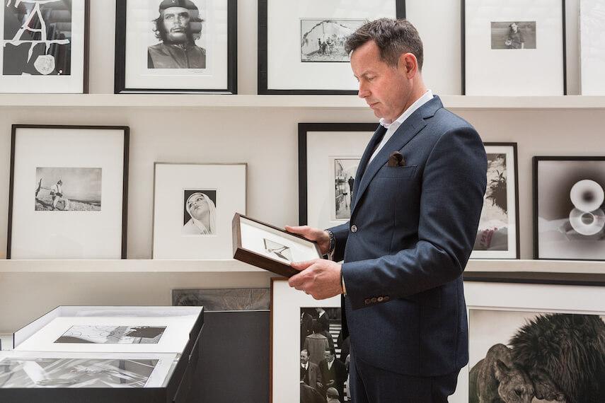 Ben Burdett founder Atlas Gallery - fine art photography expert