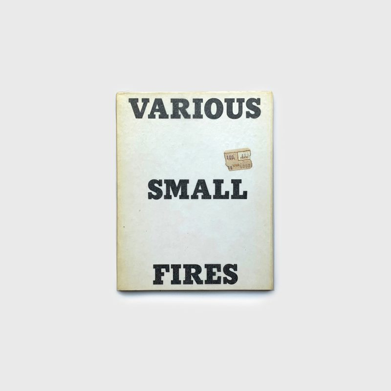 Various Small Fires and Milk, 1964
