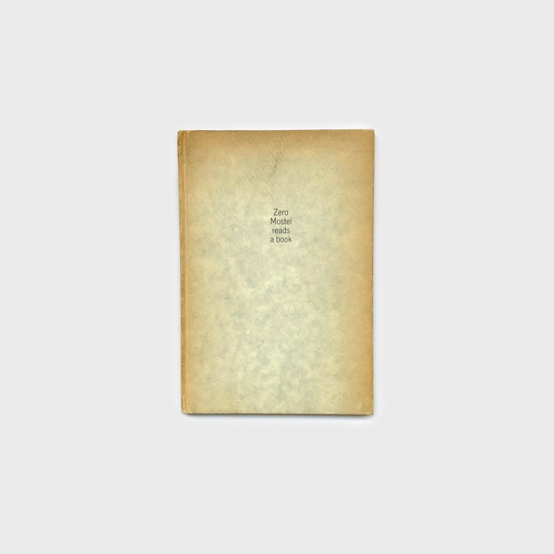 Zero Mostel Reads A Book, 1963