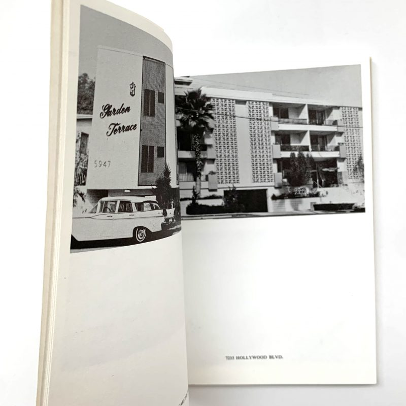 Some Los Angeles Apartments, 1970