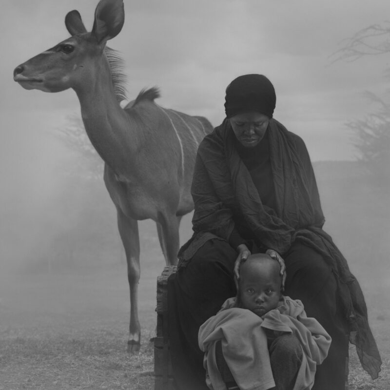 Halima, Abdul and Frida, Kenya, 2020