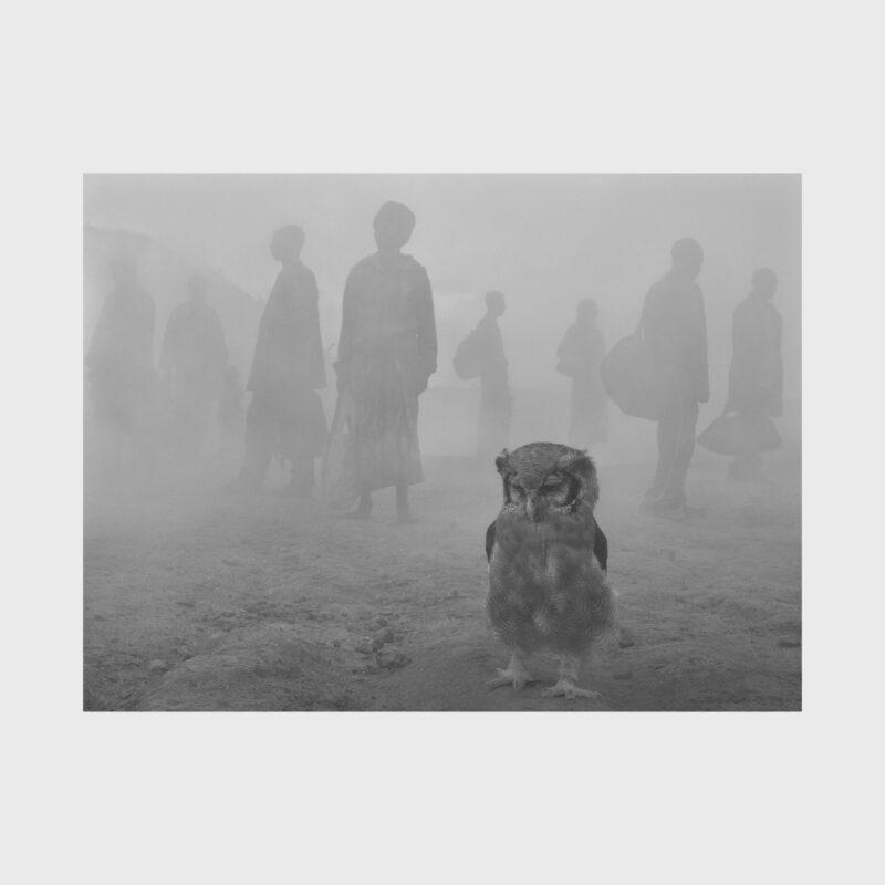 Harriet and People in Fog, Zimbabwe, 2020